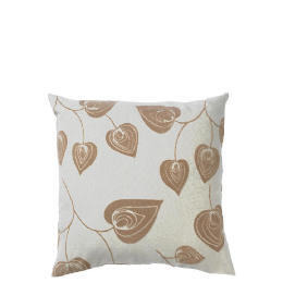 Tesco Flock Leaf Cushion, Natural, Lola Reviews