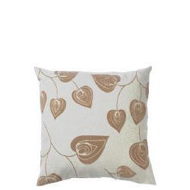 Tesco Flock Leaf Cushion, Natural, Lola Reviews