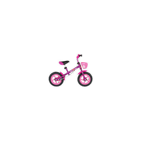 Pink Girls Balance Bike