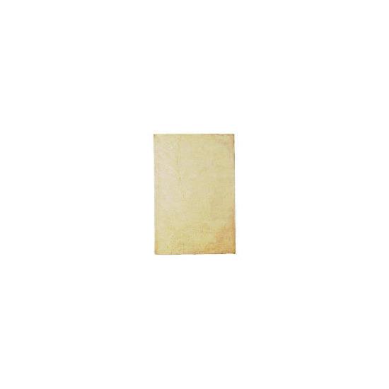 Tesco Leaf Wool Rug, Cream 160x230cm