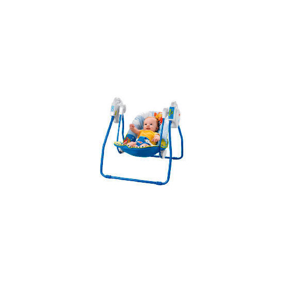 Fisher-Price Friendly Firsts Take Along Swing