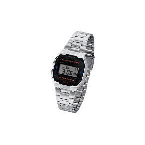 Photo of Casio Silver Retro Digital Watch Watches Man