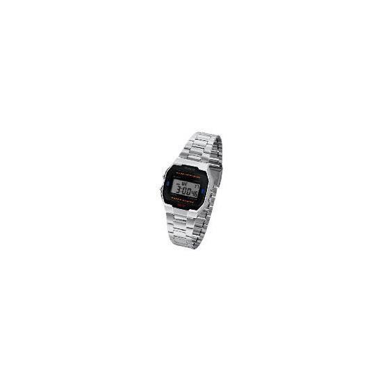 Casio Silver Retro Digital Watch