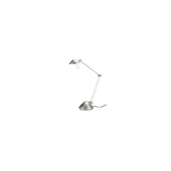 Halogen Silver Desk Lamp