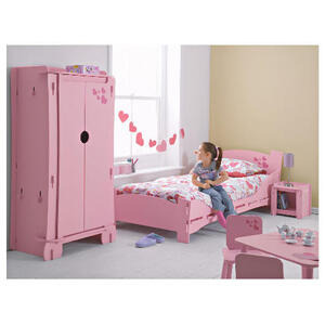 Photo of Kidsaw Loveheart Shorty Bed Bedding