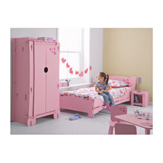 Kidsaw Loveheart Shorty bed