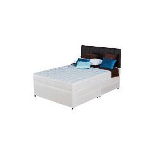Photo of Silentnight Miracoil 3-Zone Montana King 4 Drawer Divan Set Bedding