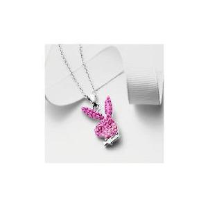 Photo of Playboy Graduated Pink Crystal Pendant Jewellery Woman