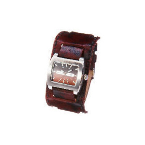 Photo of Base Mens Brown Cuff Watch Watches Man