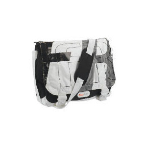 Photo of Free Rider Single Pannier Bag Black/White Back Pack