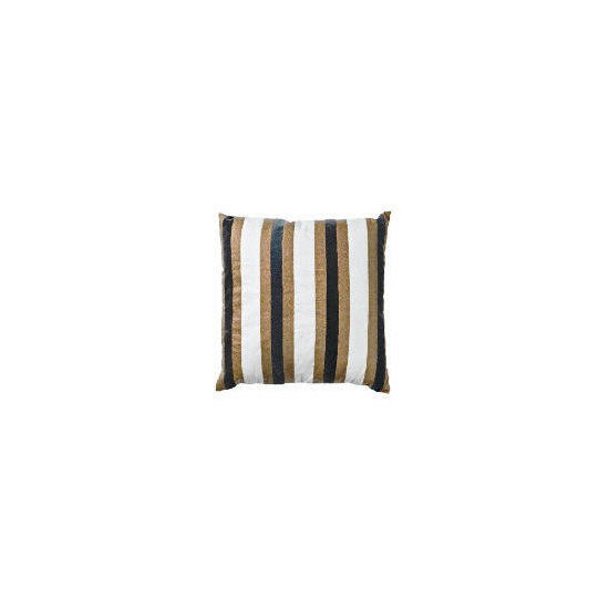 Tesco Velvet Stripe Cushion, Ellis