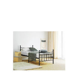 Lincoln Sgl Bed Frame, Black Reviews
