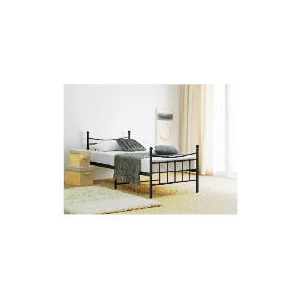 Photo of Lincoln SGL Bed Frame, Black Bedding