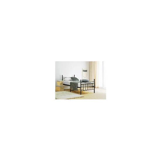 Lincoln Sgl Bed Frame, Black