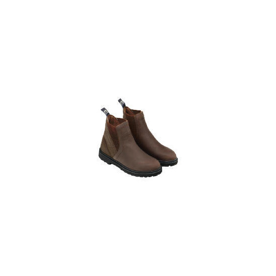 Harry Hall Junior Recife Jodhpur Boot Brown 1/33