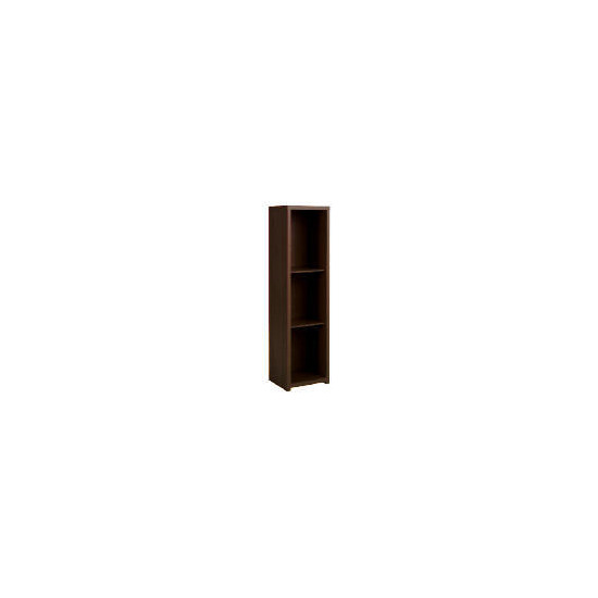 Chunky Dark Floor standing storage cupboard no glass