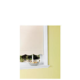 Scalloped Edge Roller Blind 180x160cm White Reviews