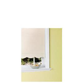 Scalloped Edge Roller Blind 180x160cm White Reviews
