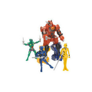 Photo of Power Rangers Jungle Fury Adventure Set Exclusive Toy