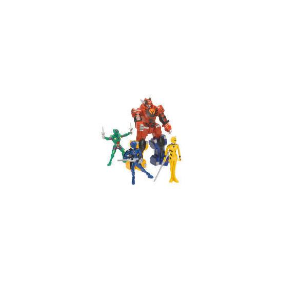 Power Rangers Jungle Fury Adventure Set Exclusive