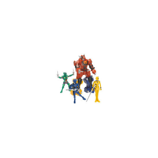 Power Rangers Jungle Fury Adventure Set Exclusive