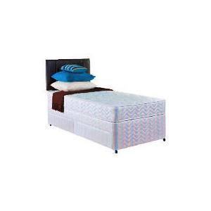 Photo of Layezee Value Medium Single 2 Drawer Divan Set Bedding