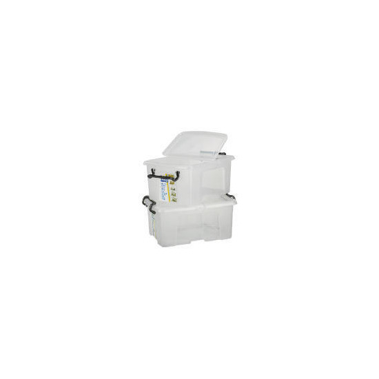 24L smart boxes, 2 pack clear