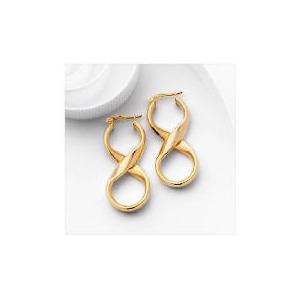 Photo of 9CT Gold Fancy Twist Hoops Jewellery Woman