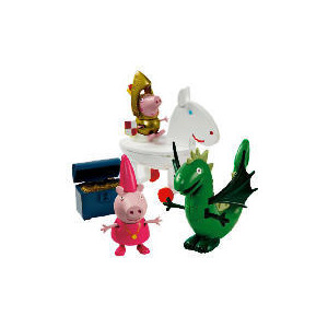 Photo of Peppa Pig George & The Dragon Playset Toy