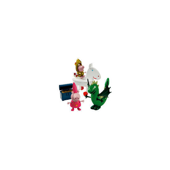 Peppa Pig George & The Dragon Playset
