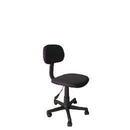 Tesco Value Home Office Chair, Black Reviews