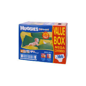 Photo of Huggies Sdry 4 Mega Value 186 Baby Product