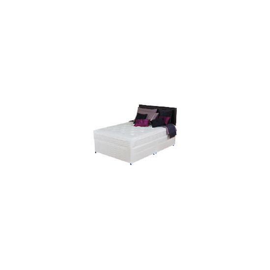 Silentnight Miracoil 3-Zone Supreme Memphis 4Ft 4 Drawer Divan Set