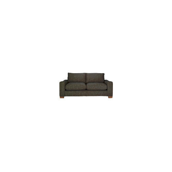 Finest Dakota Linen Sofa - Chocolate
