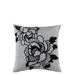 Tesco Designer Rose Print Cushion, Charcoal Reviews