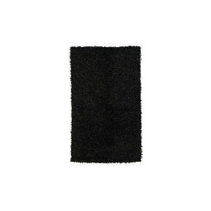 Photo of Tesco Polyester Shaggy Rug, Graphite 80X150CM Rug