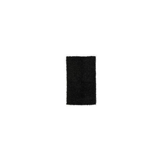 Tesco Polyester Shaggy Rug, Graphite 80x150cm