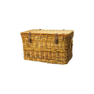 Photo of Large Rattan Trunk Household Storage