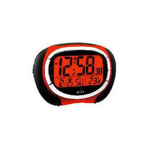 Photo of Acctim Vector RC LCD Alarm Red Clock