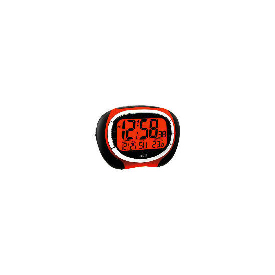 Acctim Vector RC LCD Alarm Red