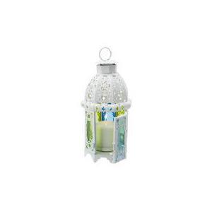 Photo of Tesco Coloured Glass Lantern, Large Lighting