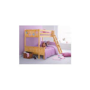 Photo of Ashley Pine Trio Bunk Bed Bedding