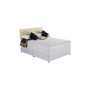 Photo of Silentnight Miracoil 7-Zone Latex Boston Double 2 Drawer Divan Set Bedding