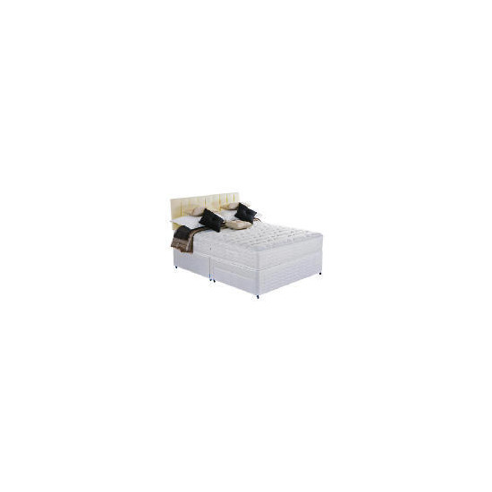 Silentnight Miracoil 7-Zone Latex Boston Double 2 Drawer Divan Set