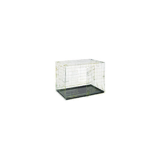 Zinc plated car crate large