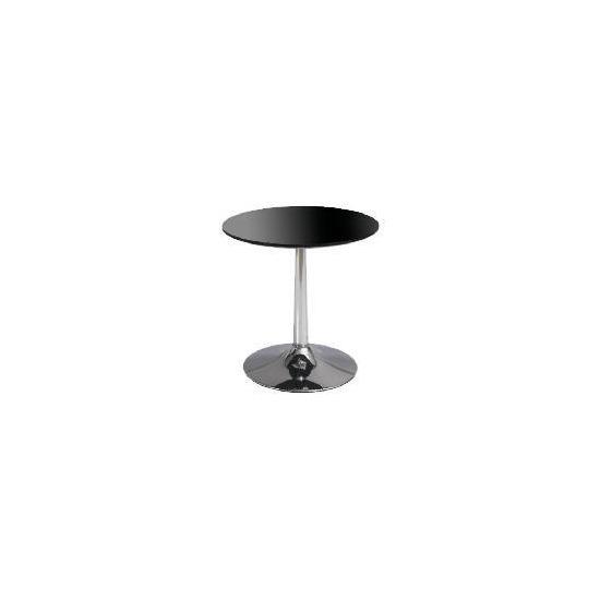 Barello Side Table, Black Gloss