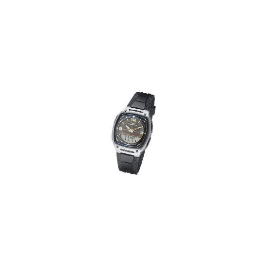 Casio Square Analogue Digital Watch