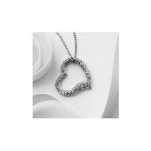 Photo of Pave Open Your Heart Pendant Jewellery Woman
