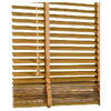 Photo of Wood Venetian Blind Oak Effect 60CMX35MM Slats Blind