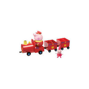 Photo of Peppa Pig Princess Peppas Royal Train Toy